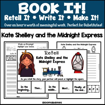 Book It: Retell It, Write It, Make It! (Kate Shelley and the Midnight Express)