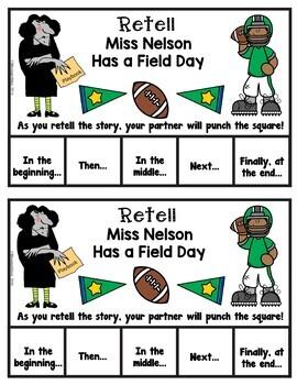 Book It: Retell It, Write It, Make It! (Miss Nelson Has A Field Day)