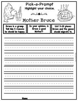 Book It: Retell It, Write It, Make It! (Mother Bruce)