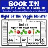 Book It: Retell It, Write It, Make It! Packet (Night of th