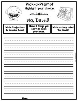 Book It: Retell It, Write It, Make It! (No, David!)
