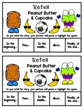 Book It: Retell It, Write It, Make It! (Peanut Butter & Cupcake)