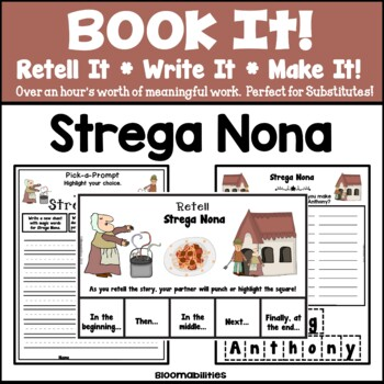 Book It: Retell It, Write It, Make It! (Strega Nona)