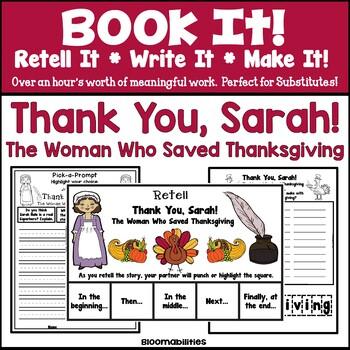 Book It: Retell It, Write It, Make It! (Thank You, Sarah)