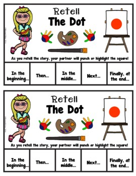 Book It: Retell It, Write It, Make It! (The Dot)