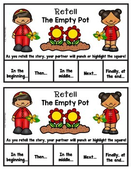 Book It: Retell It, Write It, Make It! (The Empty Pot)