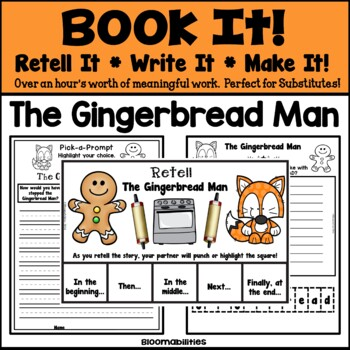 Book It: Retell It, Write It, Make It! (The Gingerbread Man)