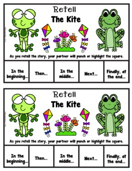Book It: Retell It, Write It, Make It! (The Kite: Frog and Toad)