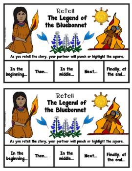 Book It: Retell It, Write It, Make It! (The Legend of the Bluebonnet)
