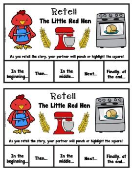 Book It: Retell It, Write It, Make It! (The Little Red Hen)
