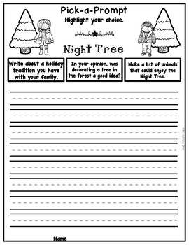 Book It: Retell It, Write It, Make It! (Night Tree)