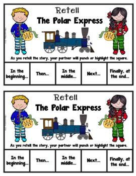 Book It: Retell It, Write It, Make It! (The Polar Express)