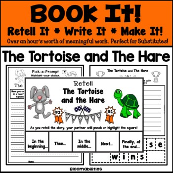 Book It: Retell It, Write It, Make It! (The Tortoise and The Hare)
