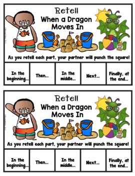 Book It: Retell It, Write It, Make It! (When A Dragon Moves In)