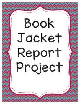 Book Jacket Report Project