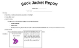 Book Jacket Report for a 'Just Right Book'