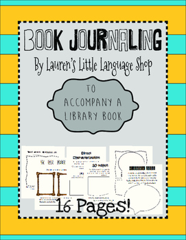 Book Journaling Packet