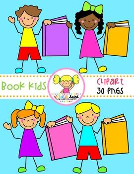 Book Kids Clipart