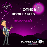 Book Labels Kit | Quick to Hand & Attractive Designs | Grades 1-5