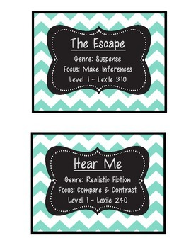 Book Labels For READ 180 NG Stage B Paperback Library