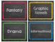 Book Labels [by genre]