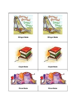 Book Labels chapter/picture books