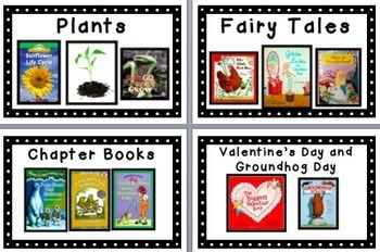 Book Labels for Classroom Library K-2