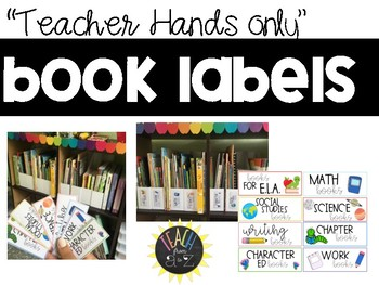 Book Labels for Teacher Read Alouds