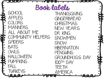Book Labels for your library