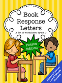 Book Response Letters Fiction Reading Response Common Core TNReady Aligned