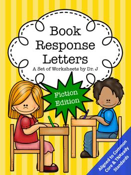 Book Response Letters Fiction Reading Response Common Core TNReady Aligned