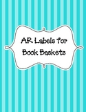 Book Levels for Book Baskets - Black and White for Use wit