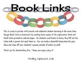Book Links: Family Reading Homework Fun!
