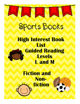 Reading List: High Interest Sports Books - L and M