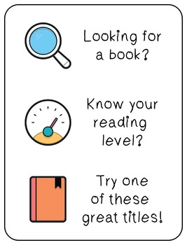 Book Recommendations: High Interest Titles by Reading Levels