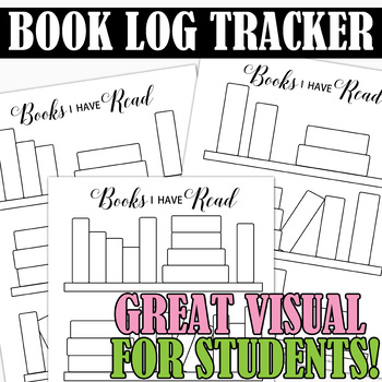 Book Log for Students to keep track of books they read!