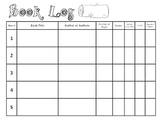 Book Log for Students