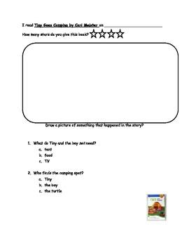 Reading Response Packet