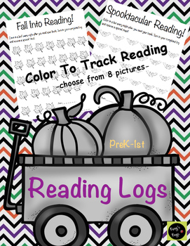 Fall Book Logs (Fall/Halloween Themes)