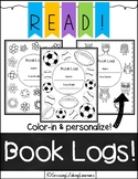 Book Logs (for Grades 2-5)!