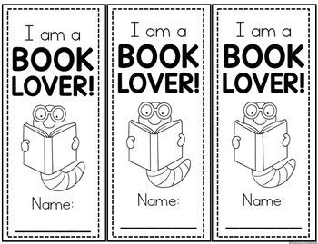 Book Lover Mini-Unit