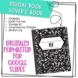 Book Lover's Book - Google Slides Compatible