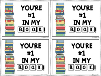 FREE Book Loving Gift Tags for Students, Parents, Teachers, & Admins-5 Versions