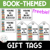 FREE Book Loving Gift Tags for Students, Parents, Teachers