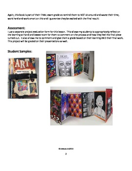Book Making Project - Summative End of the Semester Assessment