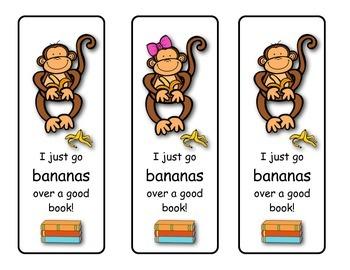 Book Mark (Going Bananas)