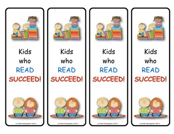 Book Mark (Kids Who Read Succeed)