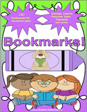 Back to School Bookmarks Holidays Teachable   Positive Reinforcement