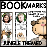 Book Marks JUNGLE Themed (Personalized with student pictur