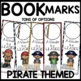 Book Marks Pirate Themed (Personalized with student picture and name)